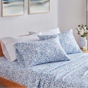 Charisma Microfiber Bedding Sheet Set - Blue